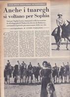 (pagine-pages)SOFIA LOREN   Settimanaincom1957/06. - Livres, BD, Revues