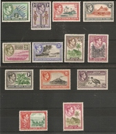BRITISH SOLOMON ISLANDS 1939 - 1951 SET SG 60/72 MOUNTED MINT Cat £90 - British Solomon Islands (...-1978)