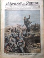 La Domenica Del Corriere 14 Ottobre 1917 WW1 Cascino Monteverde Mata Hari Ciardi - Guerra 1914-18