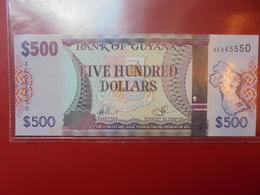 GUYANE 500$ PEU CIRCULER/NEUF - Guyana