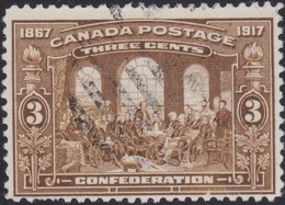 Canada  .  Scott     .      135      .      O    .  Cancelled  .   /    .  Gebruikt - 1911-1935 Regering Van George V