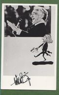 VICTOR BORGE AUTOGRAPH / AUTOGRAMM   In Person Signed Glossy Photo 9/14 Cm  3,5/5,5  Inch  *Photo Signee* - Autographs