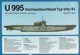 Germania,  U 995 - Sous-marins