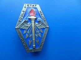 Ecole D'Etat Major , Insigne Ecole  , Insigne , Delsart - Armée De Terre