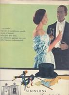 (pagine-pages)PUBBLICITA' ATKINSONS   Settimanaincom1957/06. - Livres, BD, Revues