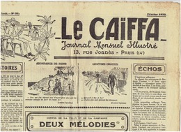 Le CAIFA De Fevrier 1932 - Journaux - Quotidiens