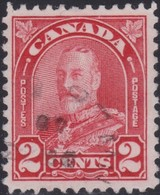 Canada  .  Scott     .      165   .      O    .  Cancelled  .   /    .  Gebruikt - 1911-1935 Regering Van George V
