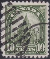 Canada  .  Scott     .      173i  . Missing Spire   .      O    .  Cancelled  .   /    .  Gebruikt - 1911-1935 Reign Of George V