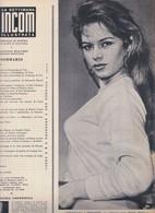 (pagine-pages)BRIGITTE BARDOT  Settimanaincom1957/30. - Livres, BD, Revues