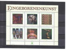 WIT439 UNO WIEN 2003 MICHL  (381/86) BLOCK 17  ** Postfrisch - Wien - Internationales Zentrum