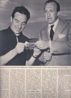 (pagine-pages)RAIMONDO VIANELLO E UGO TOGNAZZI  Settimanaincom1957/30. - Livres, BD, Revues