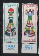 ISRAEL N° 623/624  ** -  ECHECS - Echecs