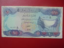 IRAQ 10 DINARS 1973  CIRCULER - Iraq