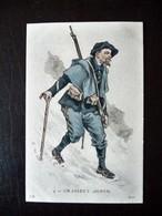 Paris Hergestellt Frankreich Chasseur Alpin Ca. 1910 ? Sammlungsuaflösung - Uniformen
