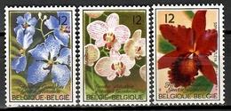 Belgium 1985 Bélgica / Flowers Orchids MNH Blumen Flores Orquídeas / Cu11536  C5 - Vegetales