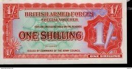 British Banknoten 5 Verschiedene - Forze Armate Britanniche & Docuementi Speciali