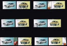 Bund 2018, Michel# 3367 - 3368 O Automobile  Audi Quatro / Wartburg 1.3 - [7] República Federal