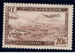 TIMBRE POSTE AERIENNE ALGERIE N° YVERT 4A Type II  NEUF - Stamps