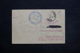 """FRANCE - Carte Postale De Bizerte En FM , Cachet """"Commission Militaire Interallié De Contrôle Berlin """" En 1926 - L 25504 - Marcophilie (Lettres)"""