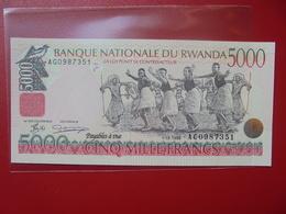 RWANDA 5000 FRANCS 1998 PEU CIRCULER/NEUF - Ruanda