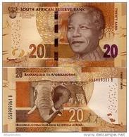 SOUTH AFRICA       20 Rand       P-139b       ND (2015)       UNC  [ Sign. Kganyago ] - Sudafrica
