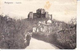ITALIA - ARZIGNANO (vicenza) - Castello, Animata, Viag. B.1917 - 2019-416 - Italia