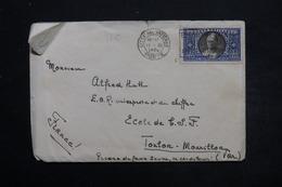 VATICAN - Enveloppe De La Cité Pour Toulon En 1936 , Affranchissement Plaisant - L 25506 - Lettres & Documents