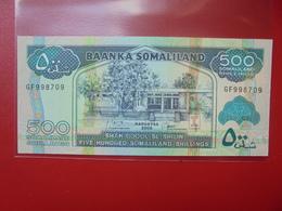 SOMALIE 500 SHILLINGS 2008 PEU CIRCULER/NEUF - Somalie