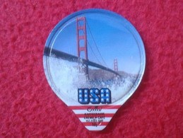 CROMO TAPA DE KAFFEERAHM CAFÉ CREMA CREME EMMI USA GOLDEN GATE PUENTE BRIDGE SAN FRANCISCO CALIFORNIA UNITED STATES VER - Cromos