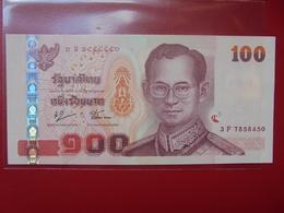 THAILANDE 100 BAHT PEU CIRCULER/NEUF - Thaïlande