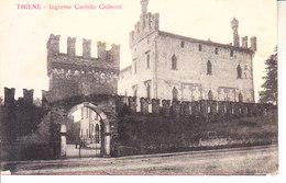 ITALIA - THIENE (vicenza) - Ingresso Castello Colleoni, Viag. B.1917 - 2019-419 - Italia