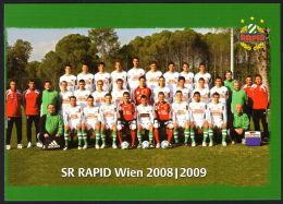 ÖSTERREICH - Fussball, Football / SK Rapid Wien - PK - Fussball