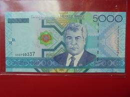 TURKMENISTAN 5000 MANAT 2005 PEU CIRCULER/NEUF - Turkménistan