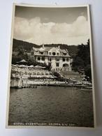 Velden A. W. See // Foto - AK Hotel Hubertus Hof 19?? - Velden