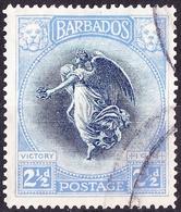 BARBADOS 1920 2.5d Indigo & Ultramarine SG205 Fine Used - Barbados (...-1966)