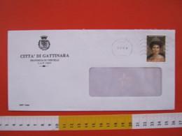 IT.05 ITALIA STORIA POSTALE - 2003 COMUNE DI GATTINARA DA BIELLA FR. REGINA ELENA SAVOIA + 0,21 PRO LOTTA TUMORI SENO - 6. 1946-.. Repubblica