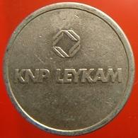 KB245-2 - KNP LEYKAM - Kon Ned Papierfabrieken - Maastricht - WM 22.5mm - Koffie Machine Penning - Coffee Machine Token - Professionnels/De Société