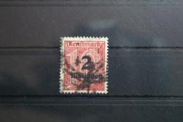 Deutsches Reich Dienstmarke 97X Gestempelt Geprüft Infla Berlin #SF736 - Dienstpost