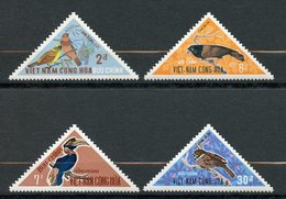 Vietnam Du Sud, Yvert 368/371, Scott 364/367, MNH - Viêt-Nam
