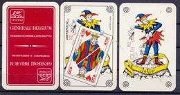 Belgie - Speelkaarten - ** 2 Jokers - Generali Belgium - Verzekeringsmaatschappij - Cartes à Jouer Classiques