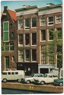 Amsterdam: VW T1C BUS, OPEL REKORD A & KAPITÄN P2, AUSTIN 1100 - Prinsengracht, Anne Frank Huis - Toerisme