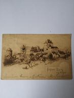 Schloss Burg A. D. Wupper (NRW) Kunstler - AK 1901 - Duitsland