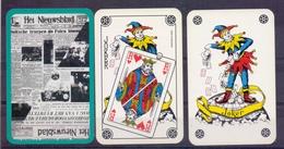 Belgie - Speelkaarten - ** 2 Jokers - Het Nieuwsblad - Cartes à Jouer Classiques