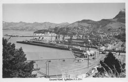 LYTTELTON, NEW ZEALAND - GENERAL VIEW ~ AN OLD REAL PHOTO POSTCARD #90836 - Nouvelle-Zélande