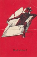 Krampus Postcard Cca.1910 - Nikolaus