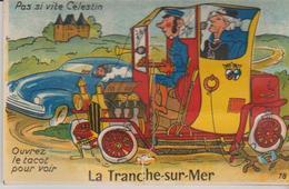 """85 """" LA TRANCHE SUR MER """"ouvrezle Tacot Pour Voir """" - A Systèmes"""