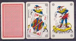 Belgie - Speelkaarten - ** 2 Jokers - Rood ** - Cartes à Jouer Classiques
