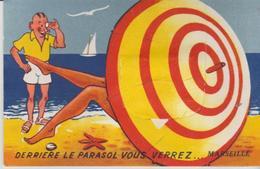 """13 """" Marseille."""" .derrire Le Parasol Vous Verrez """"   . - A Systèmes"""