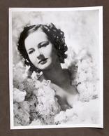 Cinema - Fotografia Dell'attrice Barbara Reed - 1937 Ca. - Foto