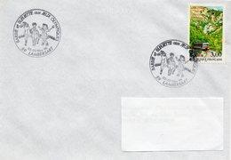 LAMBERSART (NORD) : JOUETS Oblitération Temporaire 1996 POUPEES  BARBIE Et BLEUETTE - Puppen